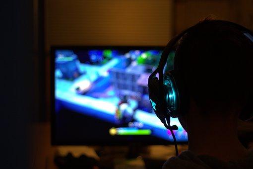 gamer jeux vidéos